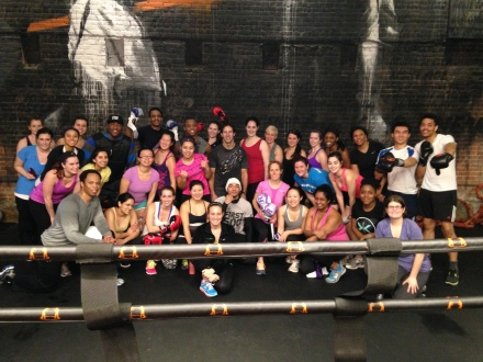 Intro to Boxfit Grop Photo