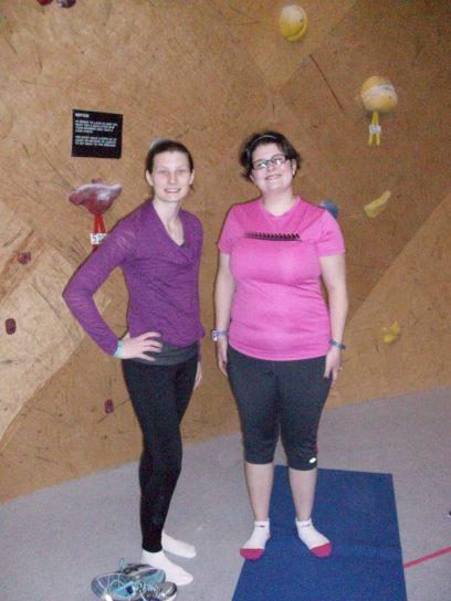Erica - Boston Rookie & Danielle - Getting Fit in MA