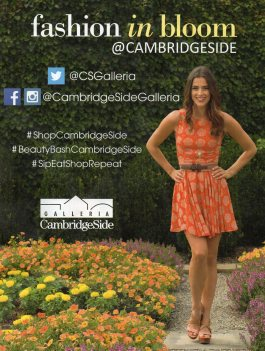 Cambridgeside Fashion In Bloom