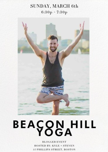 Blogger Yoga