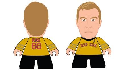 Captain Kirk Figurine